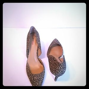 womens open side pointed-toe office shoes